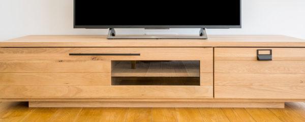 Les meubles TV en bois